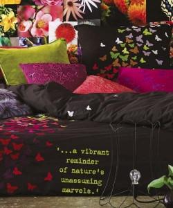 - Vibrant colors & comfort in an alternates teen bedroom